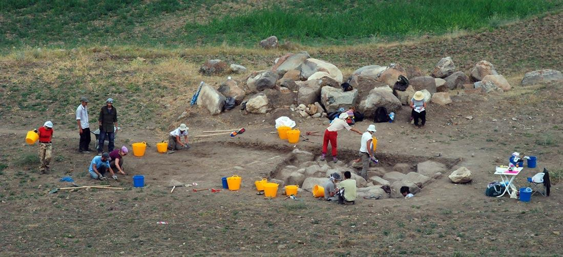 TThe Italian Archaeological Expedition in Central Anatolia